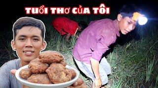 Sang Vlog - Ra Ruộng Bắt Nhái Làm Mâm Bánh Tuổi Thơ