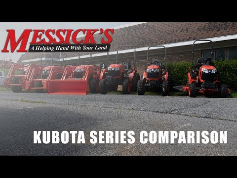 Kubota BX-B-L-MX-M | What Series Is Right For You?