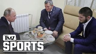 What We Know About Khabib's Meeting With Vladimir Putin | TMZ Sports
