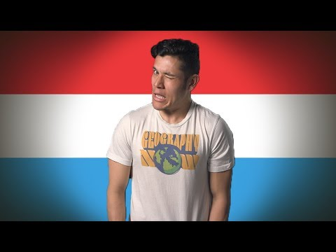 FLAG/ FAN LUXEMBOURG! (Geography Now!)