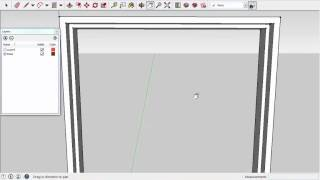 Урок 4. Двери (часть 1). SketchUp 2015