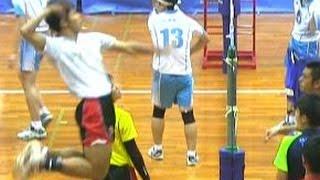 春高バレースパイク練習【大塚高校 vs 清風高校】大阪予選・決勝 High School Boys Volleyball Spike Haikyuu Japan
