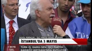 1 Mayıs 2014 Doğu Perinçek Mayısta Alanlarda Gündemi Yorumladı
