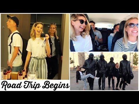 ROAD TRIP BEGINS
