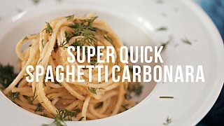 Super Quick Spaghetti Carbonara [BA Recipes]
