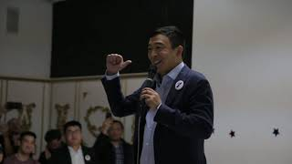 Andrew Yang Doesn't Give a $#!% About a Spot in the Joe Biden Administration