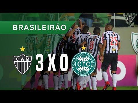 ATLÉTICO-MG 3 X 0 CORITIBA - 19/11 - BRASILEIRÃO 2017