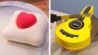 Awesome Cake Decorating Compilation   Most Satisfying Chocolate Cake   DIY Cake Decorating