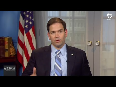 Marco Rubio talks immigration with Jorge Ramos