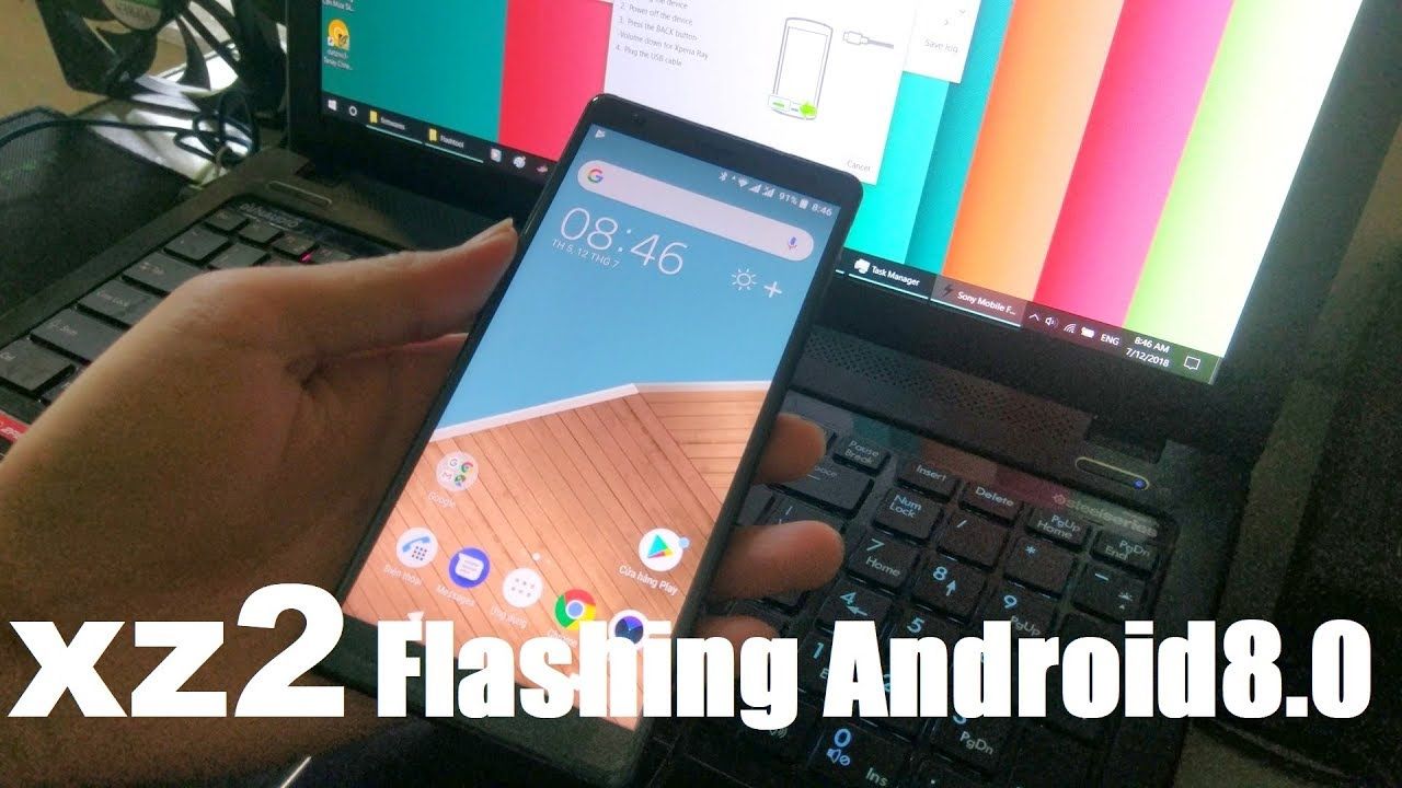 How To Flash SONY XPERIA XZ2 With Flashtool 0 9 25 0 | Flashing Android 8 0