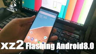How To Flash SONY XPERIA XZ2 With Flashtool 0.9.25.0 | Flashing Android 8.0