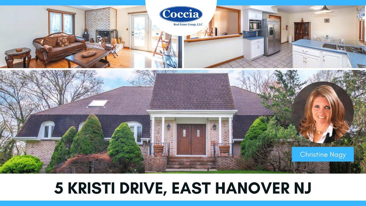 5 Kristi Drive   Homes for Sale East Hanover NJ   Morris County