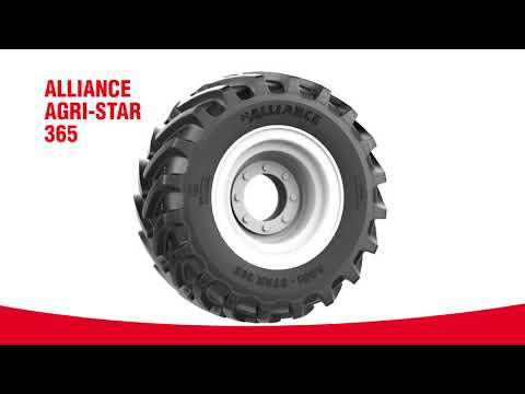 Alliance 365 AGRI-STAR - High Performance & Long Life tire