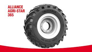 Alliance 365 AGRI-STAR - High Performance & Long Life tire
