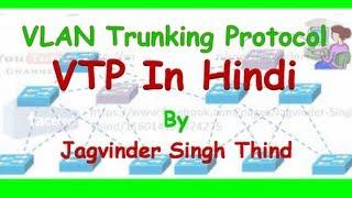Cisco CCNA VTP in Hindi - VLAN Trunking Protocol  - Part 1