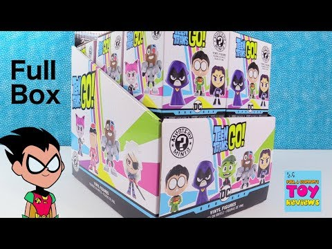 Teen Titans Go Funko Mystery Minis Full Box Unboxing | PSToyReviews