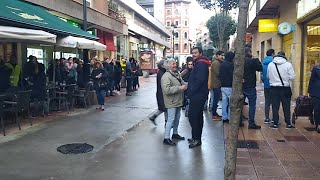 Huelga de supermercados en Asturias