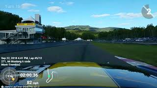 Race 1 2018 Fall classic circuit Mont-Tremblant thumbnail