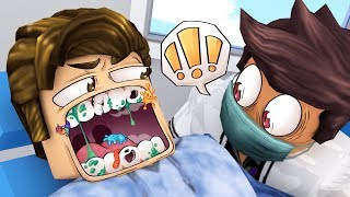 Going to the ROBLOX DENTIST... i bit him
