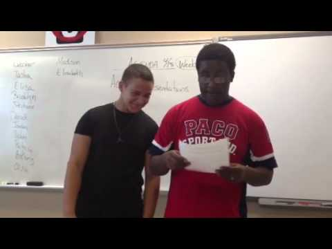 Student rap of geologic time