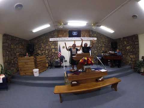 Give Glory to God Saints   (Lulu May & Margie Gordon)