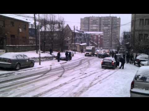 Winter in Pristina
