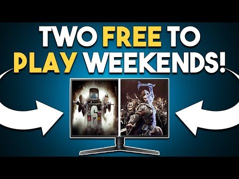 TWO Free to Play Weekends! Steam REMOVING Games?!