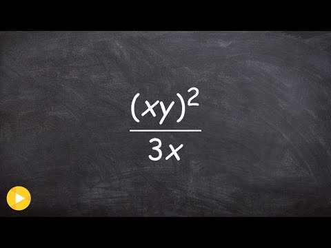 Simplifying rational expressions using the power rules