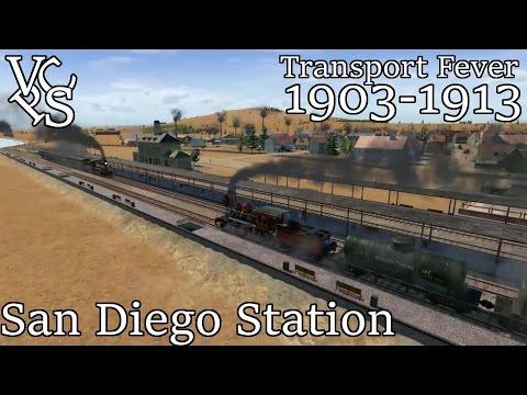 Transport Fever WVRR EP 06: San Diego Station - Hard Mode Free Map