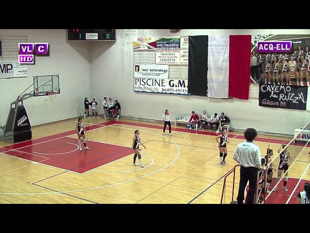 Acquasparta vs Ellera - 2° Set