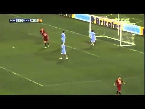 Mattia Perin goal in semirovesciata