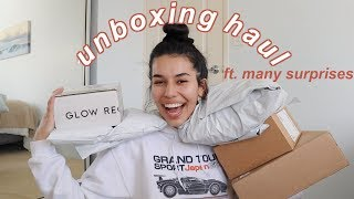 a huge unboxing haul! (PR & clothing) | ava jules