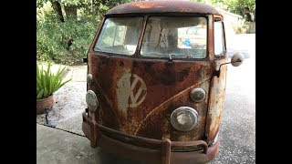 RUSTY RESTORATION ENGINE REBUILD!!! 57 YEAR OLD VW KOMBI LIVES AGAIN!!!