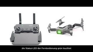 DJI Mavic Air Einführungsvideo | Verbindung zwischen Fernbedienung und Fluggerät herstellen