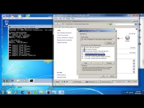 Cấu hình DNS Serve, DNS client trên máy ảo Win Serve 2008