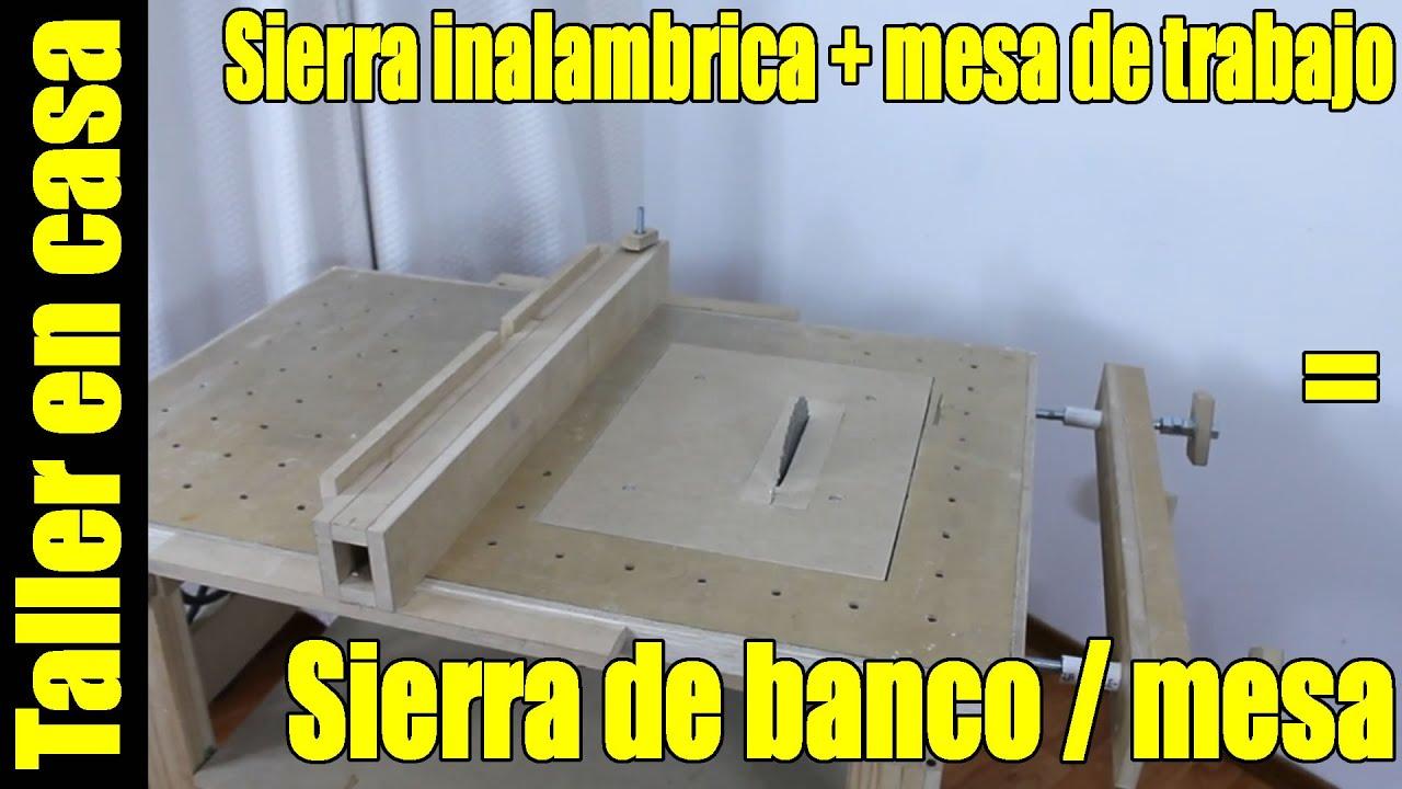 Diy sierra de banco parte 1 6 construcci n version 2 - Sierra de banco ...