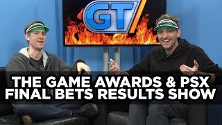 Final Bets PSX & The Game Awards 2015 Results
