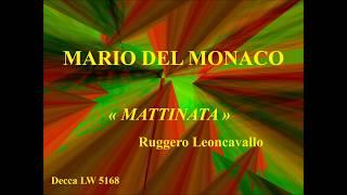 Mario del Monaco   Mattinata   Leoncavallo   Decca LW 5168