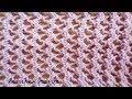 Поделки - Простой ажурный узор спицами схема и описание вязание спицами