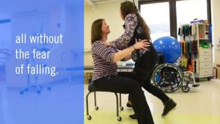 Zero-G Rehabilitation at Nemours—State-of-the-art physical therapy for kids.
