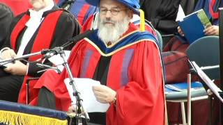 2012: Yosef Wosk - Doctor of Letters, honoris causa