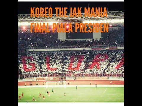 KEREN!!! KOREO The Jak Mania Saat Final Piala Presiden 2018 - Kami Bersama Persija
