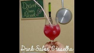 Drink Sabor Groselha sem Álcool