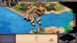 【実況】Age of Empires 2 フランシスコ デ アルメイダ 帝国の落日 (王子処刑) 簡単
