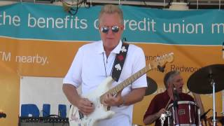 Little Charlie and Anson Funderburgh, Redwood City Blues Festival 7-26-2014