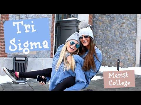 Tri Sigma Marist College Recruitment Video 2018