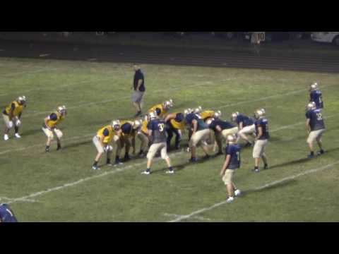 Lowellville High School Football Intrasquad 2016 HD