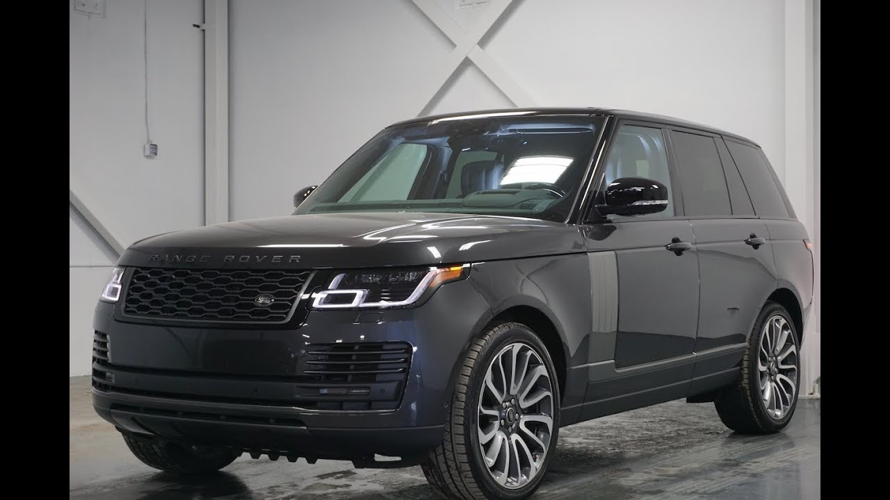 2018 Range Rover Supercharged Facelift Walkaround In 4k Youtube