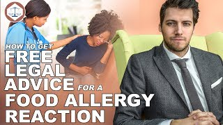 How To Get Free Legal Advice For A Food Allergy Reaction ( 2019 ) UK( 2019 ) UK