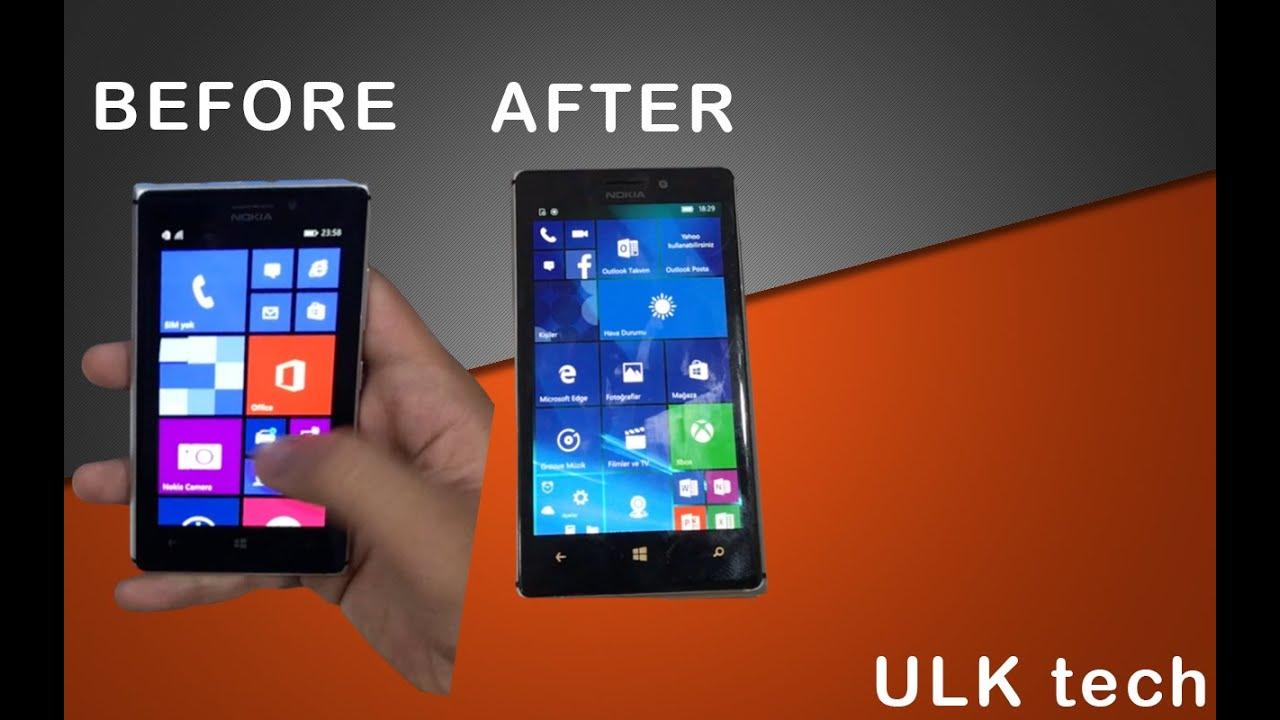Desteklenmeyen Nokia Lumia'ları Windows 8.1'den Windows 10'a yükseltmek | ULK Tech